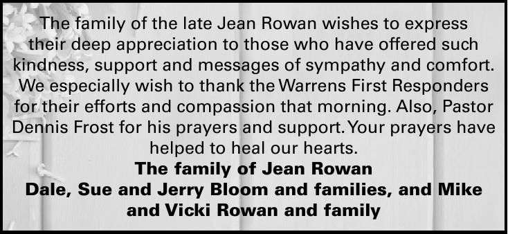 Jean Rowan