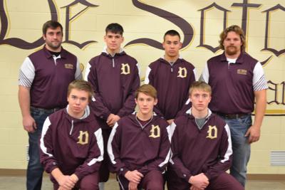 De Soto High School wrestling team 2018