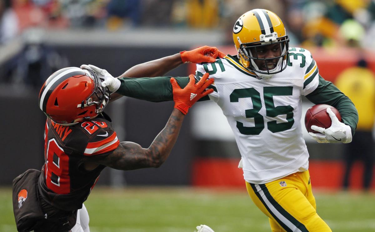 APTOPIX Packers Browns Football
