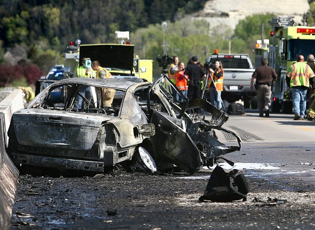 Woman pulled from fiery crash   Local   lacrossetribune com