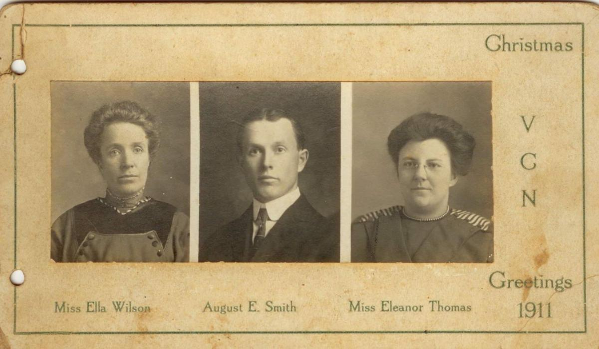 1911 Vernon County Normal School faculty
