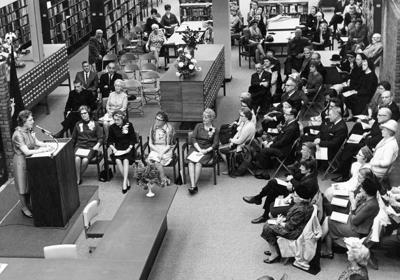 The Way it Was: 1967 library dedication