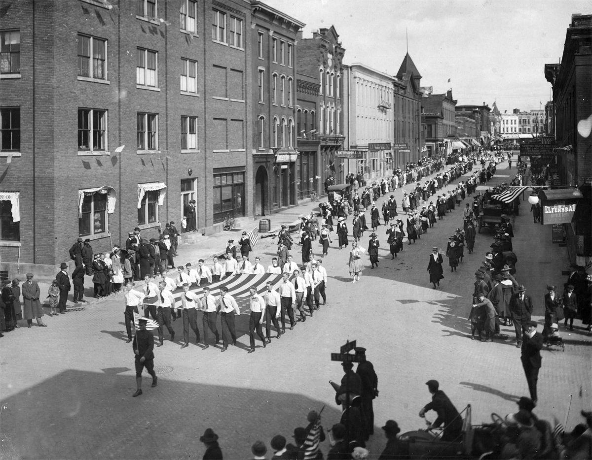 The Way it Was: 1917 Patriot's Day Parade