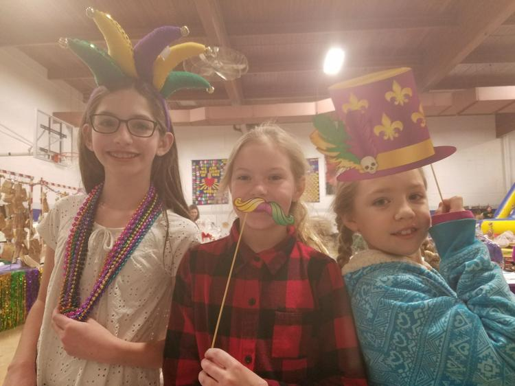 Kids enjoy Mardi Gras