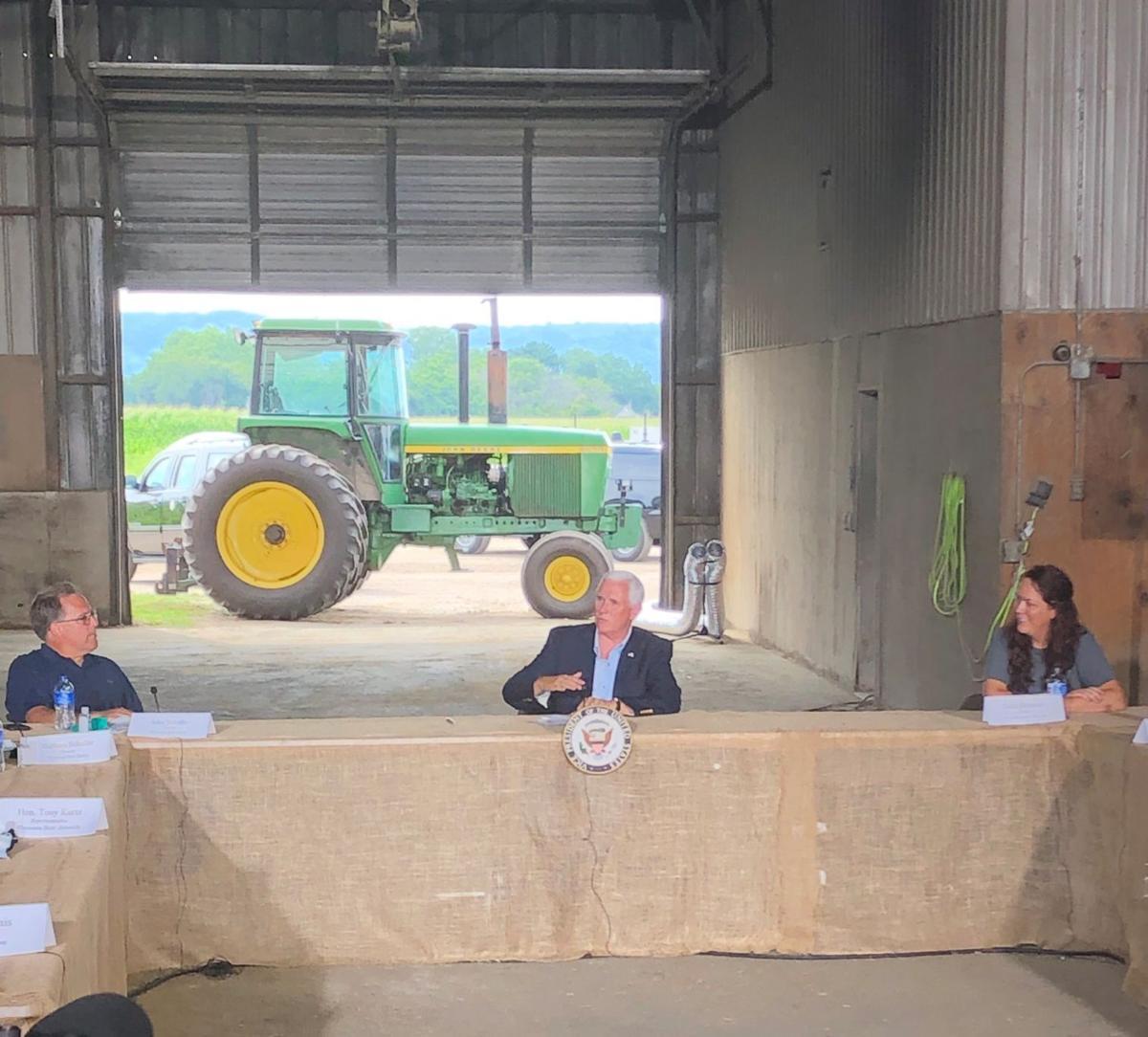 Mike Pence visits Onalaska
