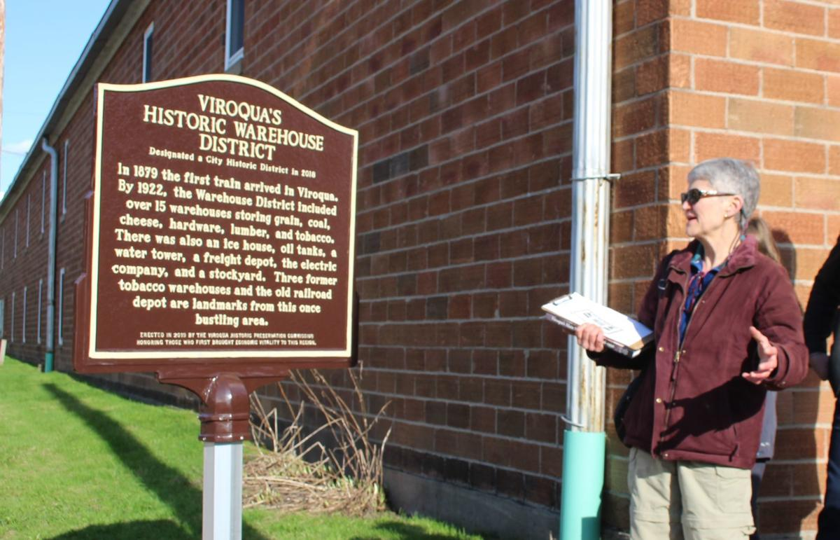 Viroqua Historic Warehouse District sign