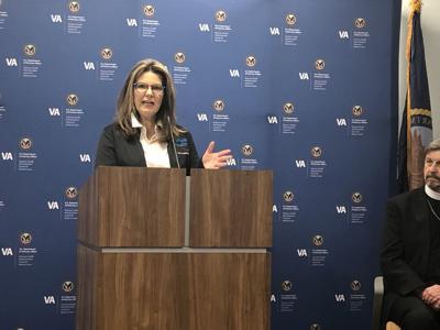 Brahm speaks at wellness center grand opening
