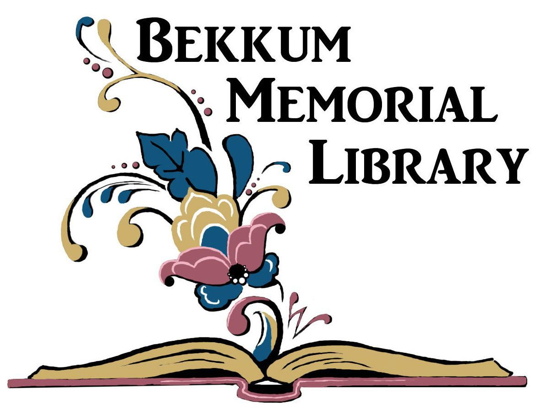Bekkum Memorial Library new logo 2017