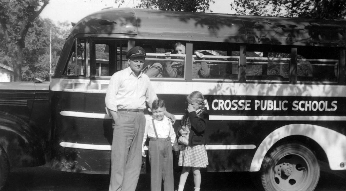 The Way it Was: School bus in 1947