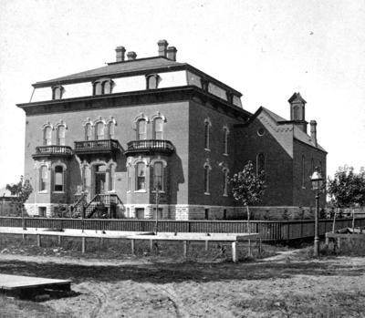 The Way it Was: Bishop's House in 1880