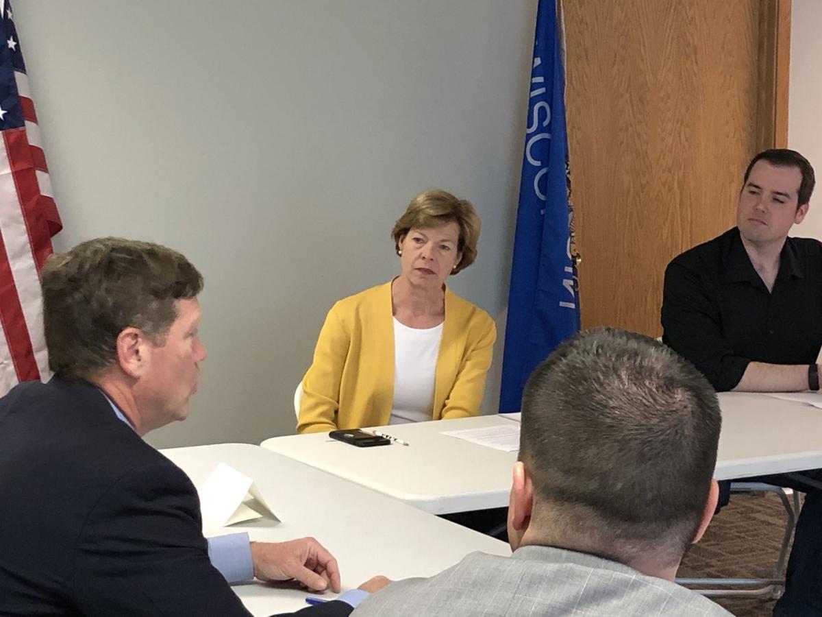 U.S. Sen. Tammy Baldwin and U.S. Rep. Ron Kind