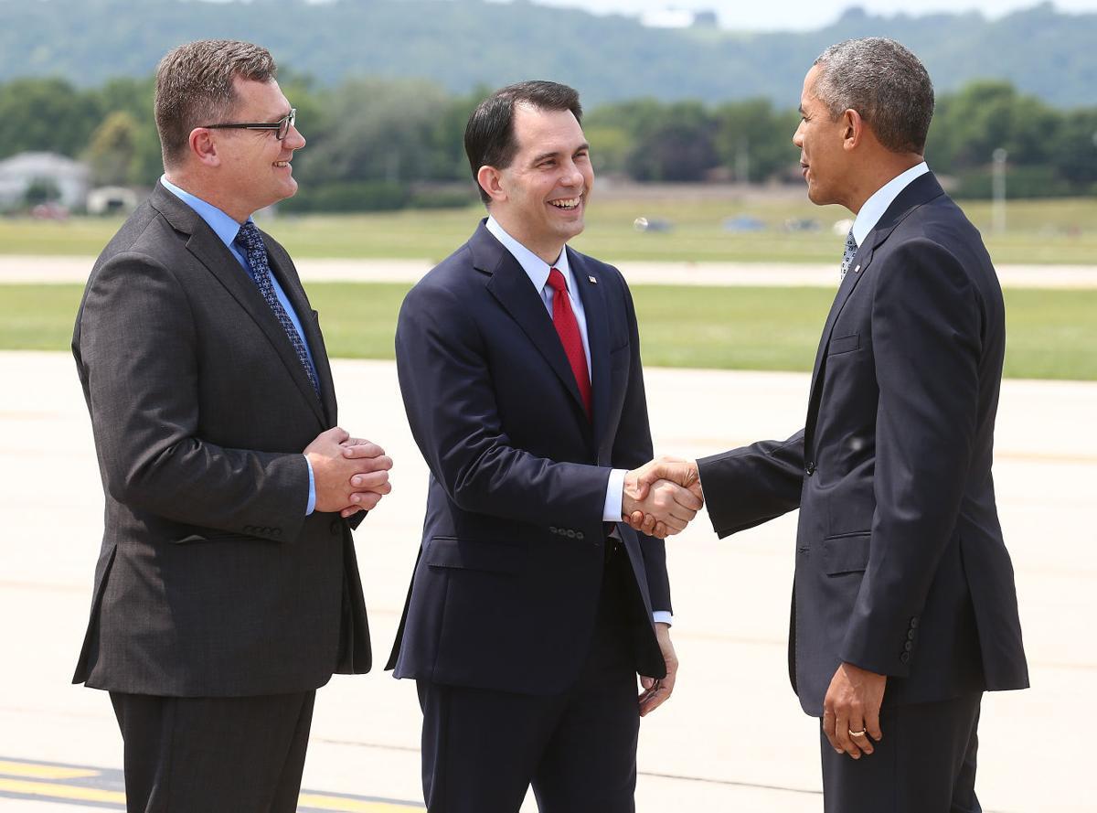 Obama Visits La Crosse 4