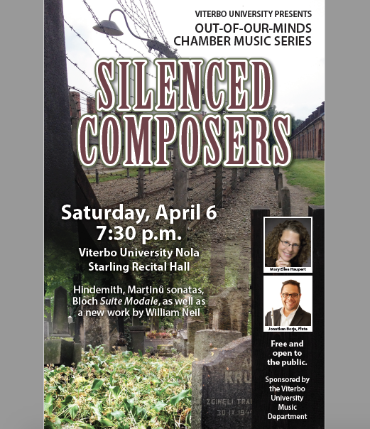 """""""Silenced Composers"""" - Out-of-Our-Minds Chamber Music Series"""