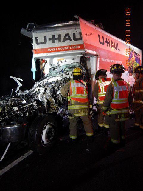 U-Haul crash