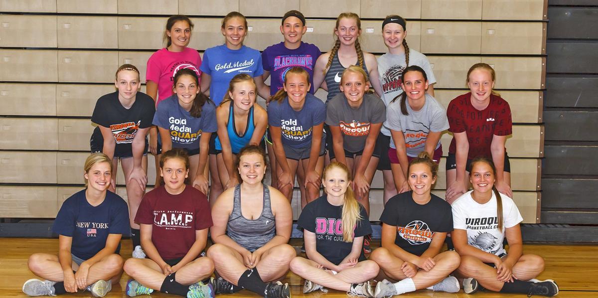2017 Viroqua High School volleyball team