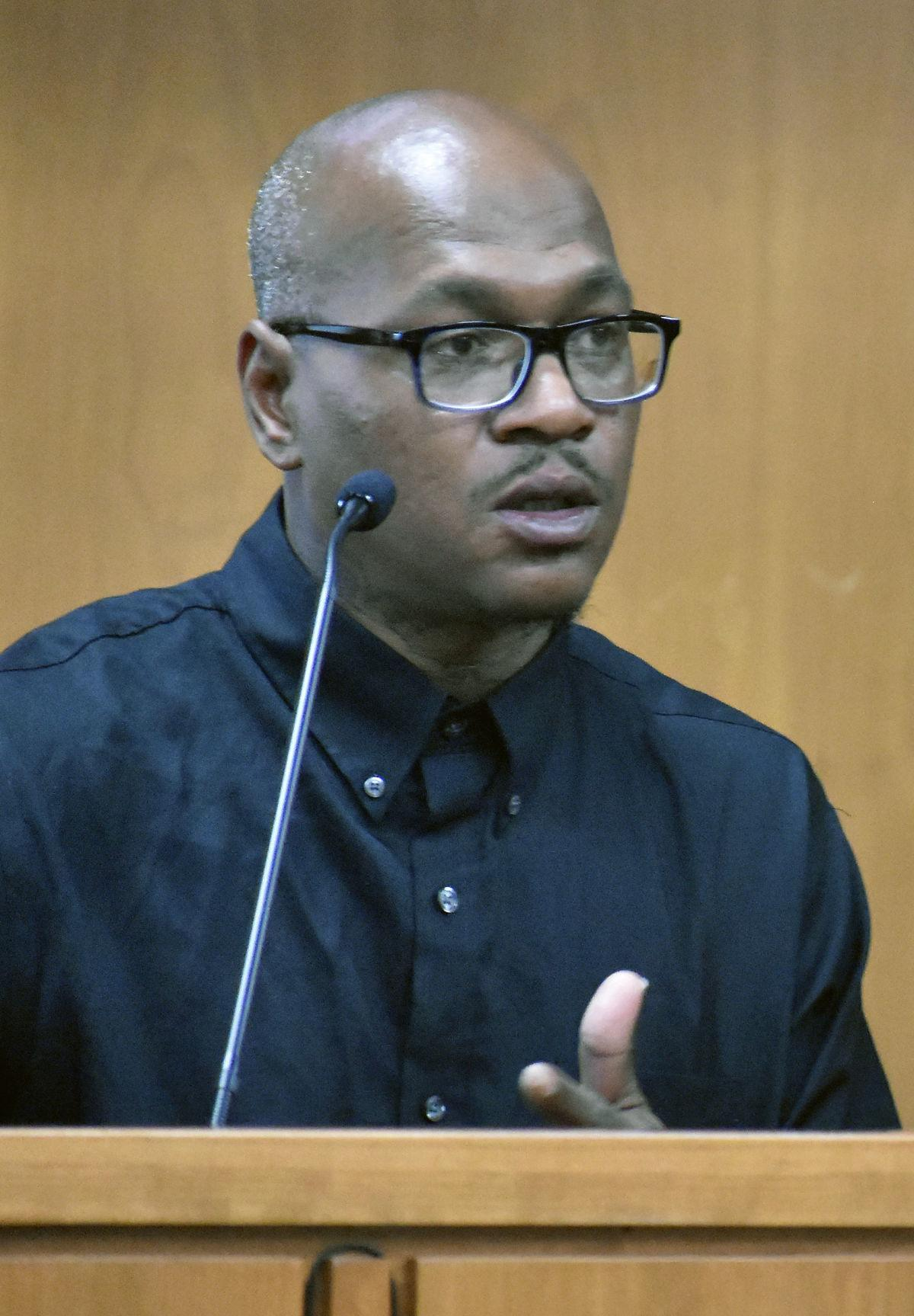Antonio Holder testifies in court