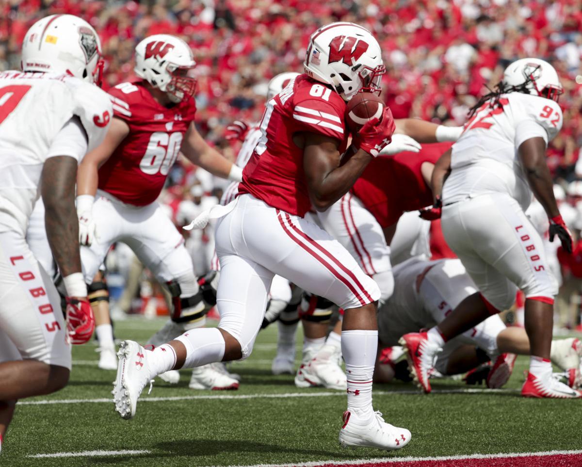 badgers football freshman redshirt tracker college sports