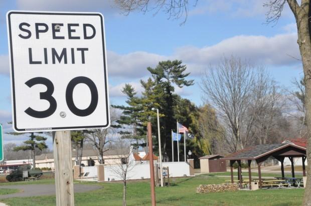 New speed limit