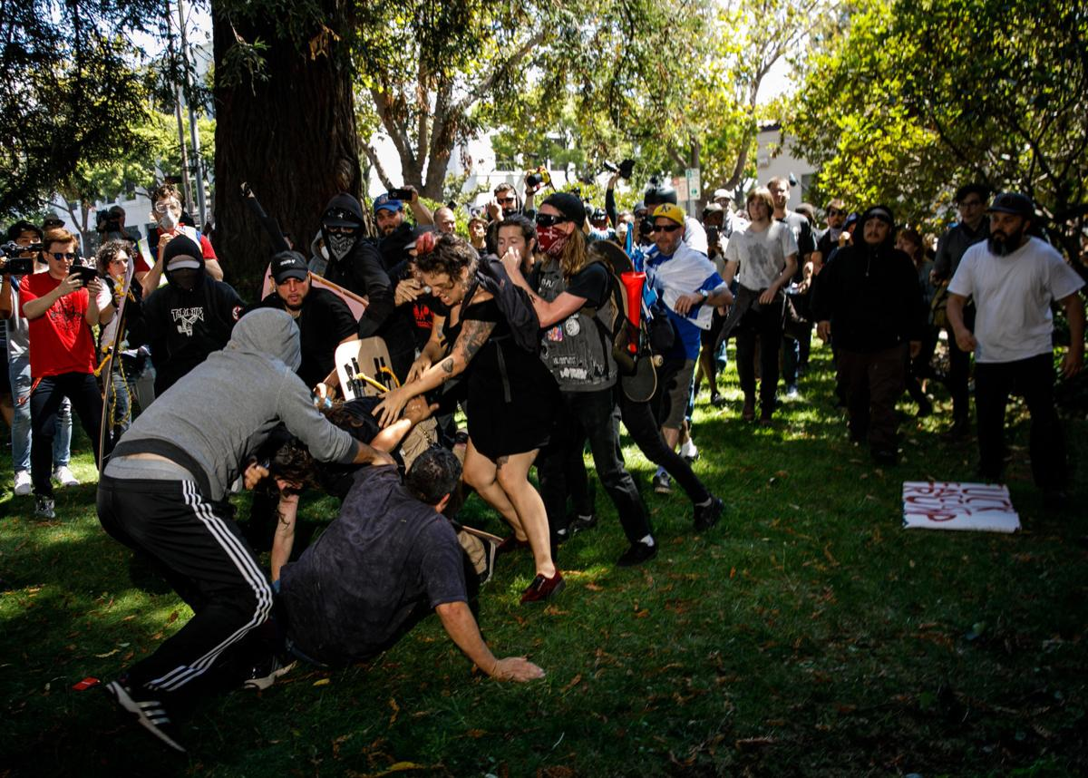 Antifa violence in Berkeley becomes problem for left-wing activist