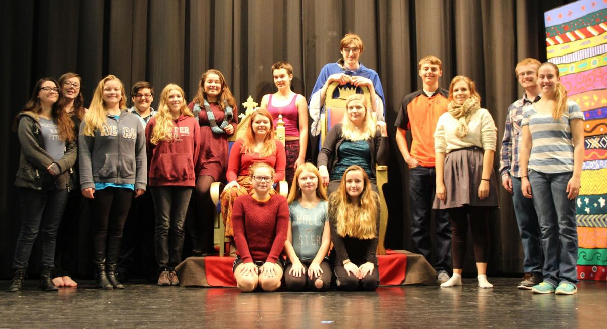 'Once Upon a Mattress' cast