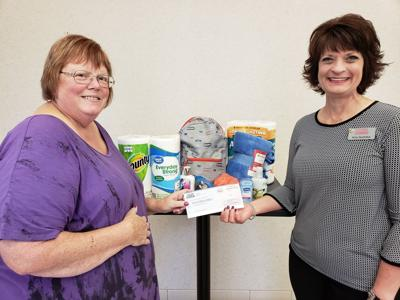 Donations to Bolton Refuge House