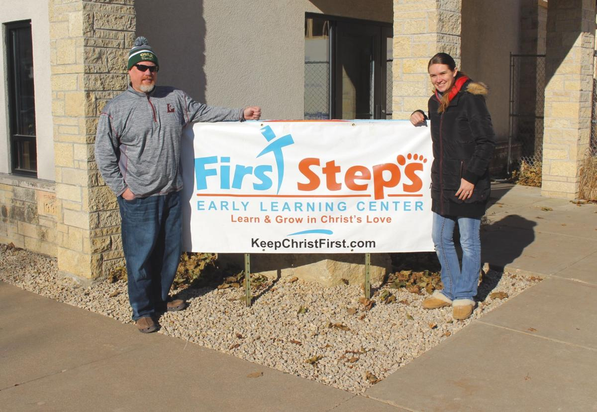First Steps sign