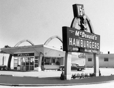 La Crosse's first McDonald's