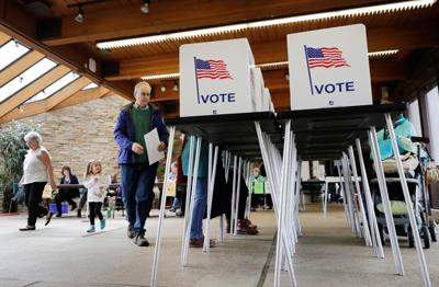Voting booth, State Journal generic file photo