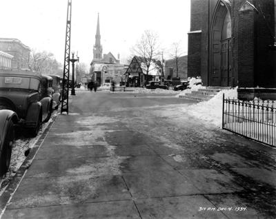 The Way it Was: Main Street in December 1934