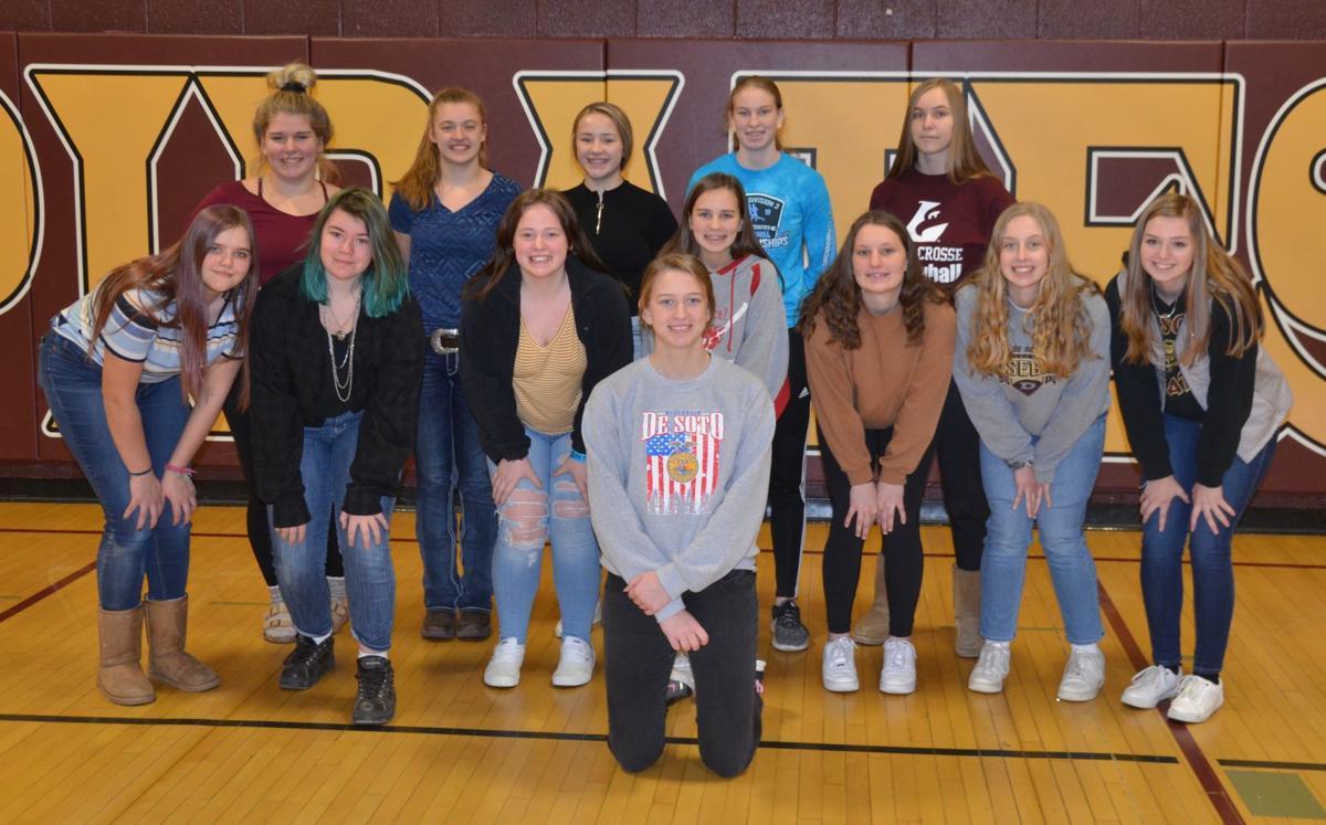 De Soto High School girls basketball team 2019-2020