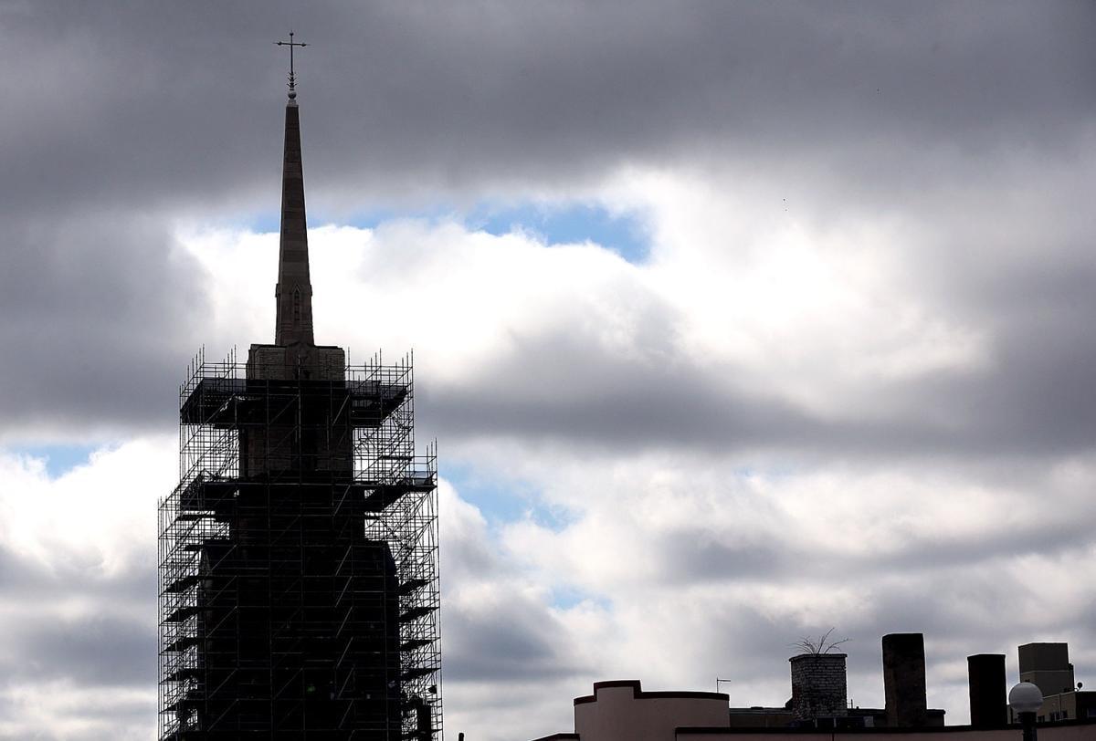 Cathedral work begins