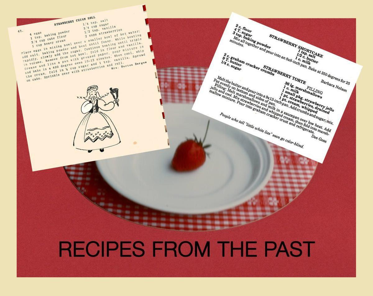 Vintage strawberry recipes