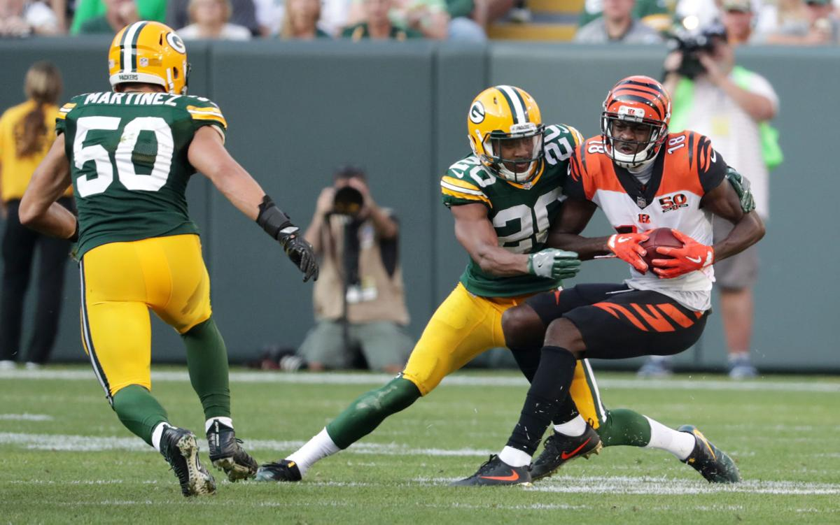 Green Bay Packers: Defensive rookies step up in win over Cincinnati