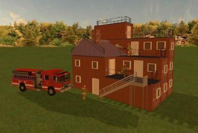 Viroqua Fire Department training tower drawing