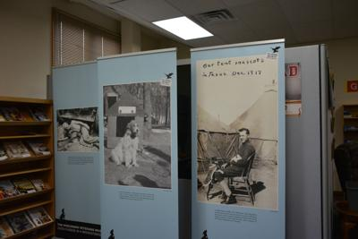 History of military mascots on exhibit at Wilton Public
