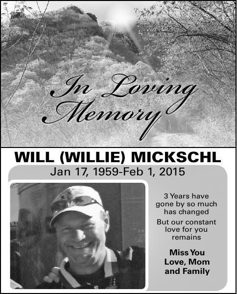 Will (Willie) Mickschl