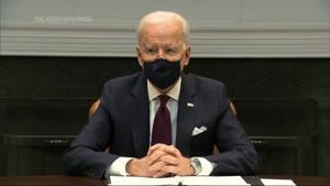 Biden: Jobs report shows stimulus urgently needed