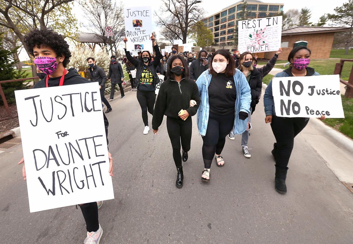 Daunte Wright protest