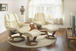 Ekornes Pair of Recliners