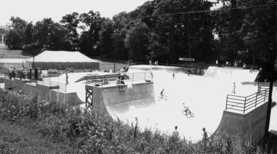 La Crosse Skate Park in 1999