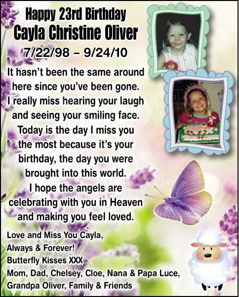 Cayla Christine Oliver