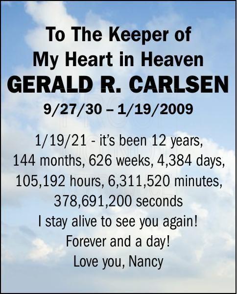 Gerald R. Carlsen