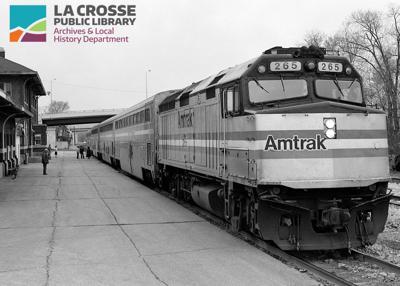 Amtrak Passenger Train, 1991