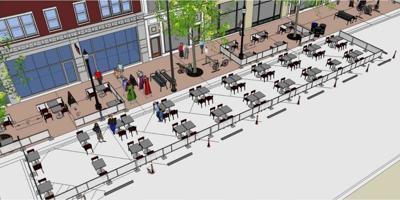 La Crosse Outdoor Cafe Program