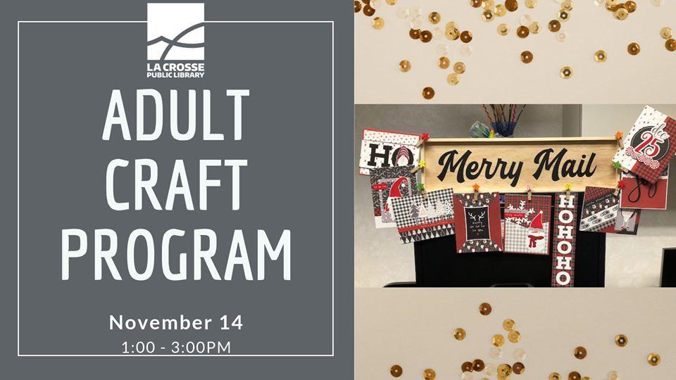 Adult Craft Program