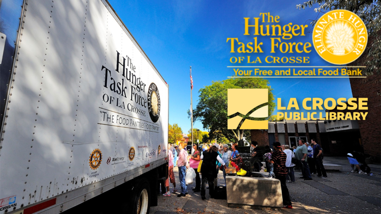 Hunger Task Force at the La Crosse Public Library