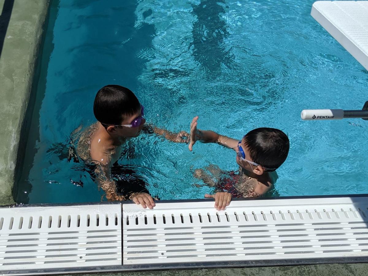 Veterans Memorial Pool open