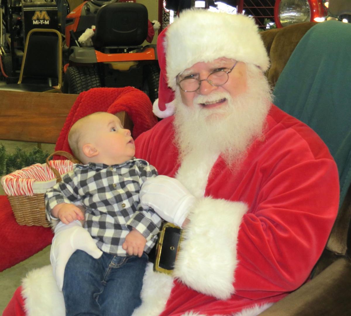 In Awe of Santa