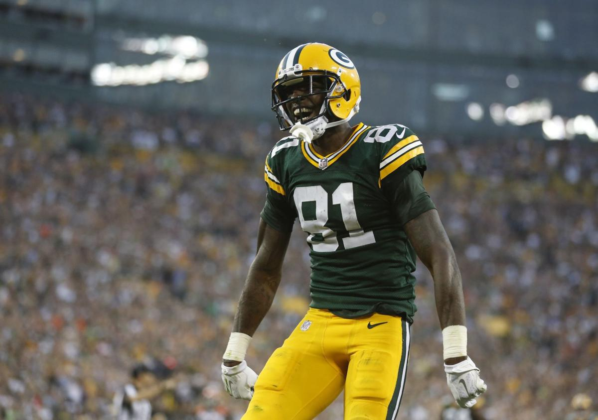 ... Jersey-  Green Bay Packers Undrafted wide receiver Geronimo Allison  comes up big 143fdd6e6