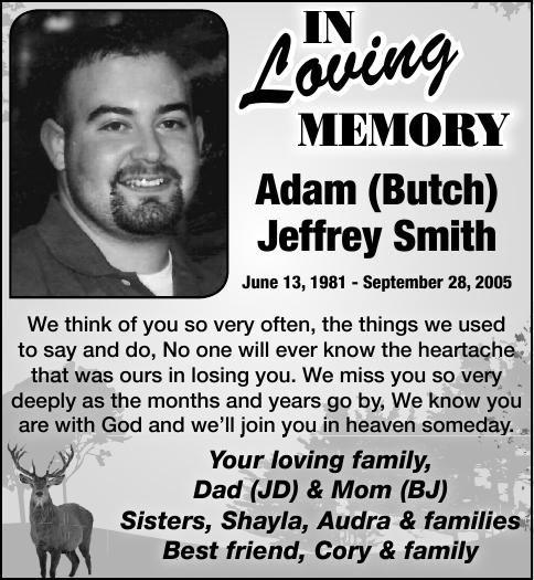Adam (Butch) Jeffrey Smith